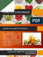 Alimentos funcionales