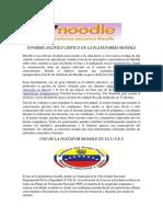 Informe Anlitico Critico de La Plataforma Moodle