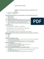 C# Questions