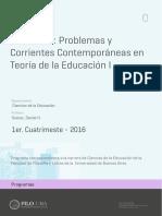 Uba_ffyl_p_2016_Edu_Seminario_Problemas y Corrientes Contemporáneas en Teorías de La Educación I