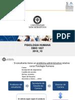 1 Sesion Dbio127- Homeostasis y Retroalimentacion