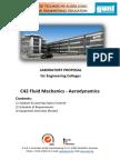 Engineering Colleges Aerodynamics Lab Proposal English