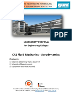 Engineering Colleges Aerodynamics Lab Proposal English