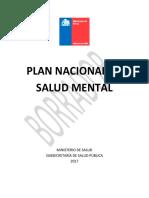 Borrador PNSM Consulta Pública