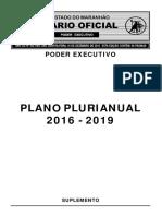 LEI DO PPA 2016-2019