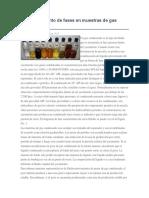 Comportamiento de Fases en Muestras de Gas Condensado
