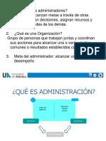 Fundamentacion de administracion para ingenieria quimica