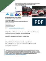 Gnadenantrag für Menschen in Notlagen an Bundeskanzlerin Dr. Angela Merkel
