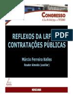 Minicurso Reflexos Da LRF Nas Contratações Públicas