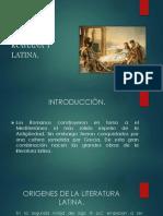 Literatura Romana y Latina (1)