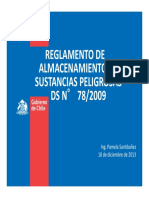 Reglamento Almac.sustancias Peligrosas