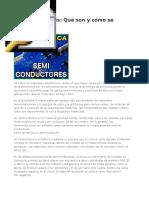 Manufactura de Semiconductores