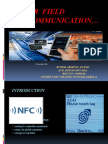 NEAR FIELD COMMUNICATION  REPORT