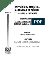 Tarea 5 Principales Leyes Que Rigen Las Maquinas Electricas