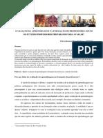 AVALIAÇÃO NA FORMAÇÃO DE PROFESSORES.pdf