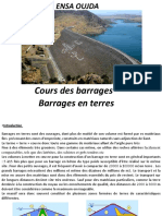 Barrage en Terredef