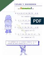 Divisibilidad , Numeros Primos , m.c.m. , m.c.d. 6to
