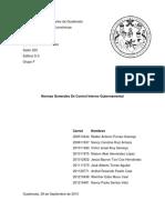 Normas Generales de Control Interno Gubernamental (Trabajo #7).Docx
