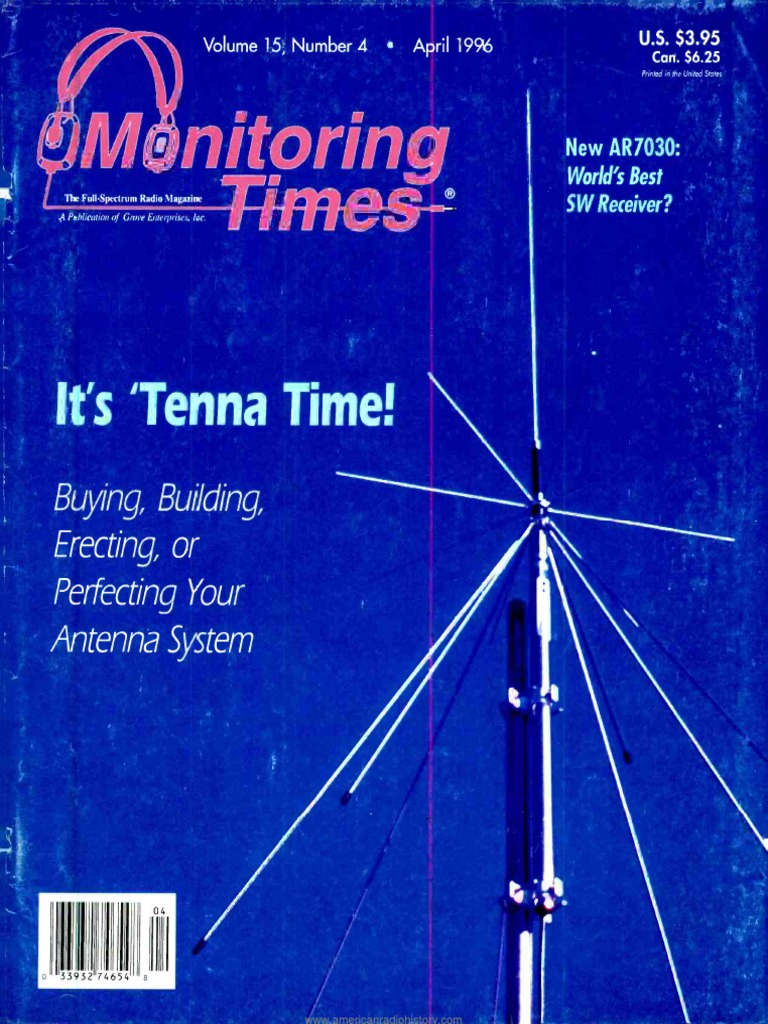 Monitoring Times Magazine April 1996 Radio Very High Frequency Figure 1113 A Simple Voice Scrambling And Descrambling Circuit At