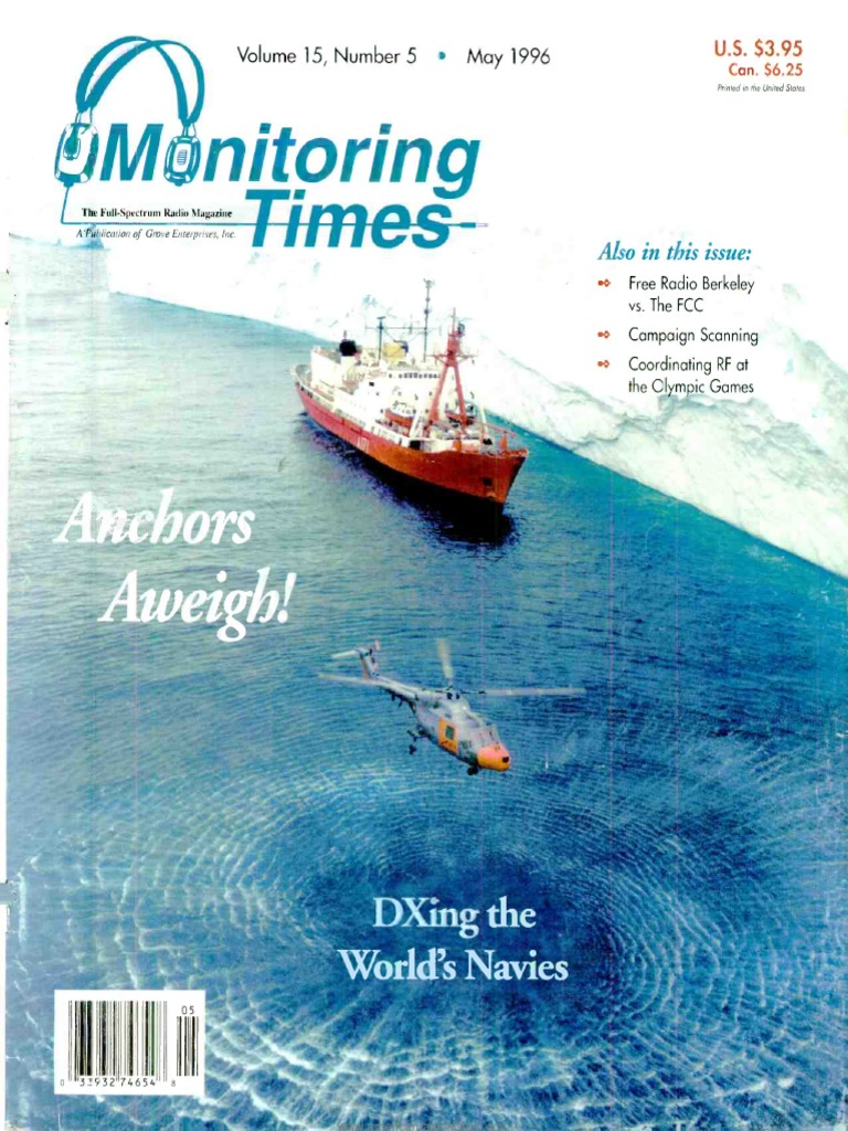 Monitoring-Times Magazine May 1996 | Radio | Very High Frequency