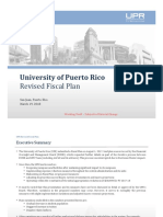 PDH- UPR - Revised Fiscal Plan Summary - 031918
