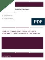 Análisis Comparativo de Los Recursos Renovables de México