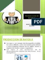 Produccion de Rayos x