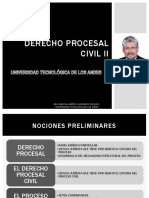 Der Proc Civil II Abg Marcial Alvarado V