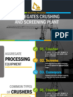Aggregates Crushing and Screening Plant