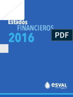 Estados Financieros Esval 2016