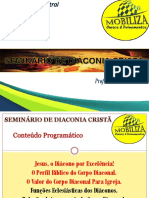 Seminário de Diaconia Cristã. parte 01