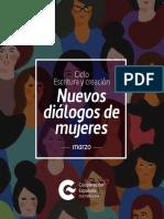Agenda Mujer - MARZO CCE