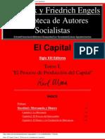 El Capital Tomo i El Proceso de Produccion Del Capital