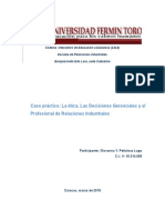 Ética Profesional /Deontologìa
