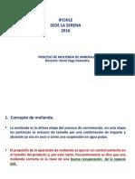 Proceso de Molienda de Minerales 2016