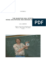 The Quantum Hall Effect, S.M. Girvin