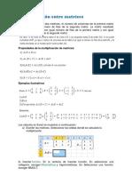 Calcular Una Matriz en La Hoja de Cálculo de Excel
