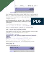 Actualizar PHP 5.1.6 a PHP 5.2.14 en RHEL