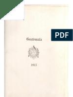 Libro Azul de Guatemala 1915