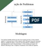 PO - Modelagem