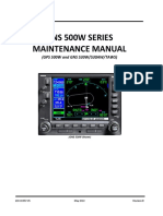 GNS 500W SERIES Maintenance Manual
