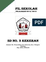 Profil Sekolah Dasar N0 3 KK