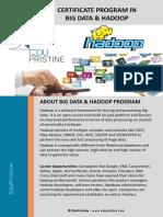 Big Data Hadoop Brochure