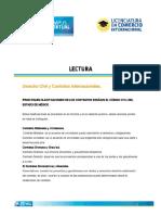 Derecho Civil y Contratos Internacionales en México