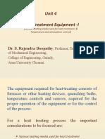 Heat Treatment Equipments Part 1