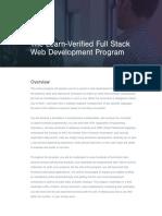Learn Verified Full Stack Web Development - Syllabust