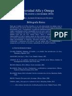 Bibliografía Básica-Ética Filosófica-Universidad Alfa y Omega