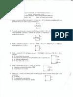 Engenharia Eletrotécnica - Lista de Exercicios Complementares