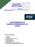 2.Procedimiento Manipulación Manual de Carga