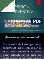 Prision Preventiva - J. Moreno